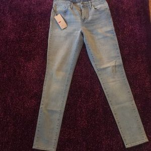 Brand New Levi's High Rise Skinny Jeans
